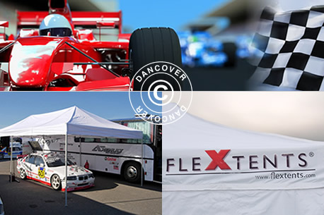 Foldetelte Flextents - Racing telte