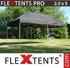 Foldetelt FleXtents PRO 2,5x5m Sort