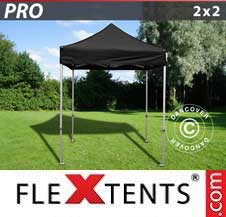 Foldetelt FleXtents PRO 2x2m Sort
