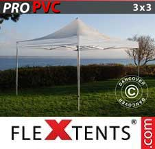 Foldetelt FleXtents PRO 3x3m Transparent