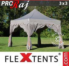 Foldetelt FleXtents PRO 3x3m Latte/Orange