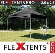 Foldetelt FleXtents PRO 2,5x2,5m Sort