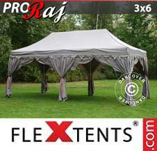 Foldetelt FleXtents PRO 3x6m Latte/Orange