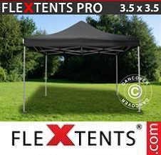 Foldetelt FleXtents PRO 3,5x3,5m Sort