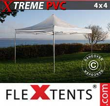 Foldetelt FleXtents PRO Xtreme 4x4m Transparent
