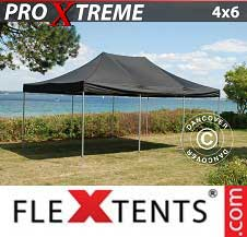 Foldetelt FleXtents PRO Xtreme 4x6m Sort