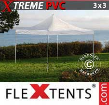 Foldetelt FleXtents PRO Xtreme 3x3m Transparent
